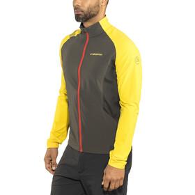 La Sportiva Levante - Chaqueta Running Hombre - amarillo/negro
